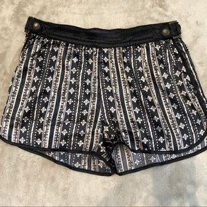 Forever21 Patterned Silky Shorts